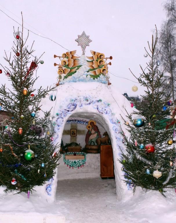Вертеп рождественский своими руками на улице 56