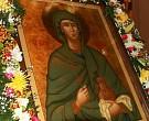 Икона с частицей мощей святой равноапостольной Марии Магдалины